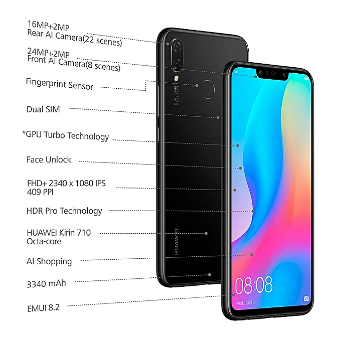 Huawei Nova 3i - 6 3