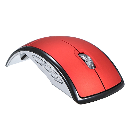 67c14a1e201 Buy Generic Wireless Mouse 2.4G Computer Mouse Foldable Folding Optical Mice  USB Receiver for Laptop PC Computer Desktop Office Red online | Jumia Uganda