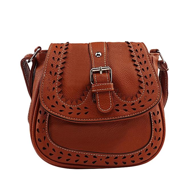 ee6363688 Haimok Small Casual Women Messenger Bags Hollow Out Crossbody Bags Ladies  handbag