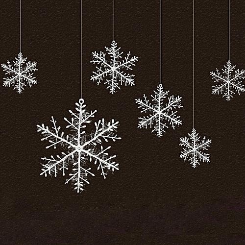 Snowflake Christmas Lights.Artificial Snow Snowflakes White Pvc Snowflake Christmas Party Supplies White 180 180