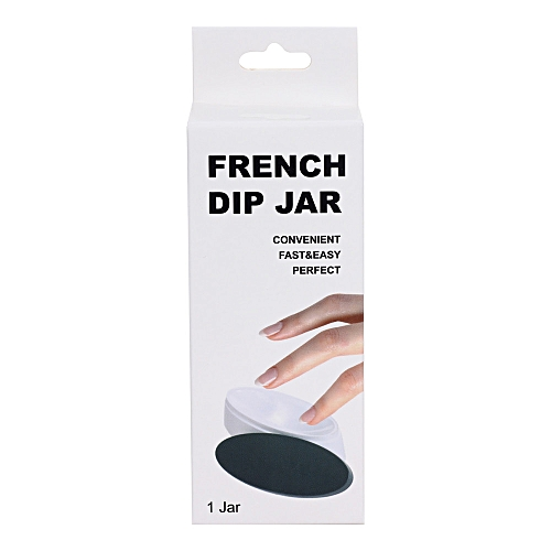 Fashion Nail Dipping Powder French Tray Manicure Mould Nail Dip Container