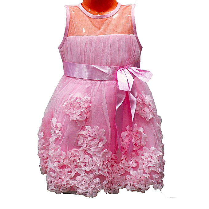 Buy - Girls Party Dress - Pink @ Best Price Online - Jumia Uganda