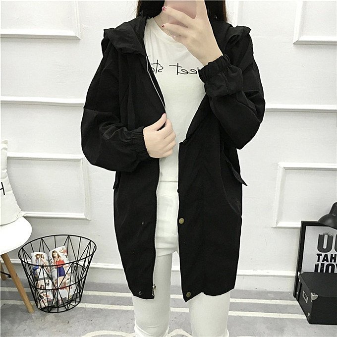 Fashionable British Style Loose Spring Autumn Comfortable Women's Clothes