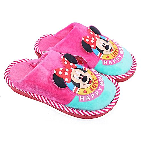 Happy Mouse Typographic Anime Cartoon Designed in - House Slippers ...