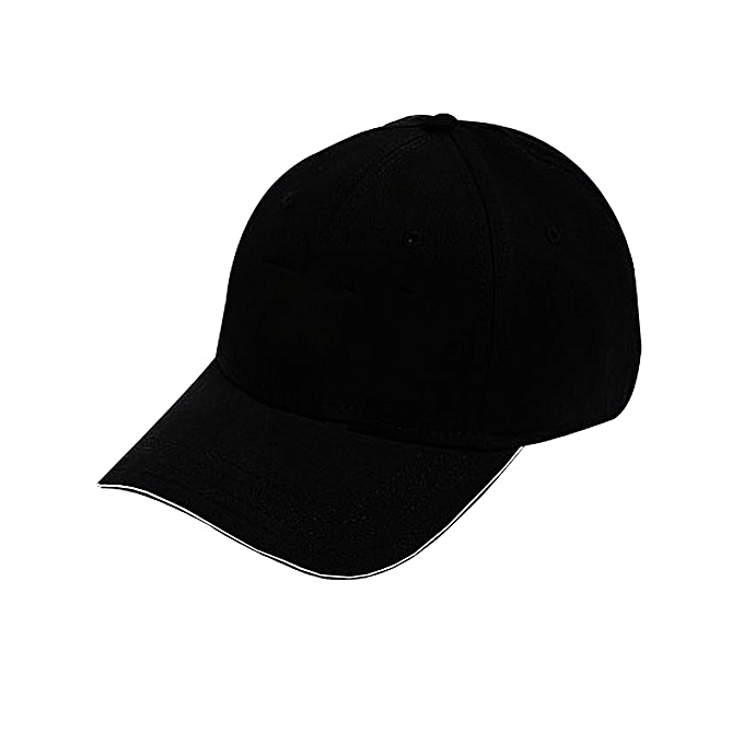 designer Plain Black Cap | Jumia Uganda