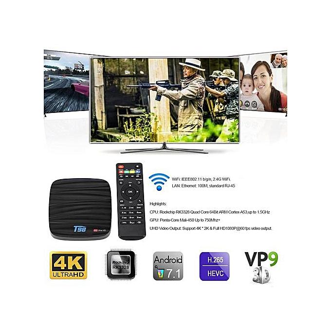 Android Smart TV Box - Black