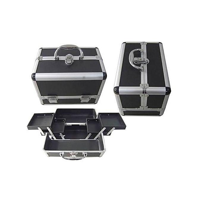 Buy Generic Aluminium Makeup Box Black Online Jumia Uganda