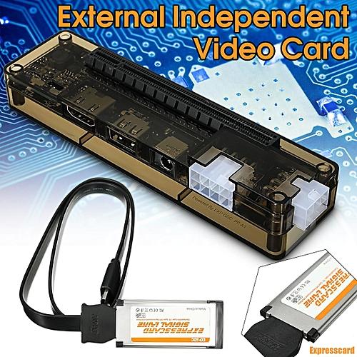5PCS Expresscard V8 0 EXP GDC Beast Laptop External Independent Video Card  Dock
