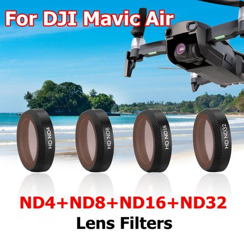 For DJI Mavic Air Drone Camera Gimbal Lens Filters HD MCUV CPL-Pro  ND4/8/16-PL