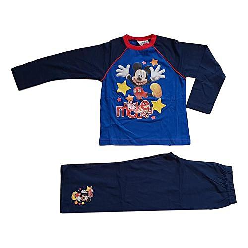 fb16db764 Buy Generic Boys Disney Mickey Mouse long Pajama set online | Jumia Uganda