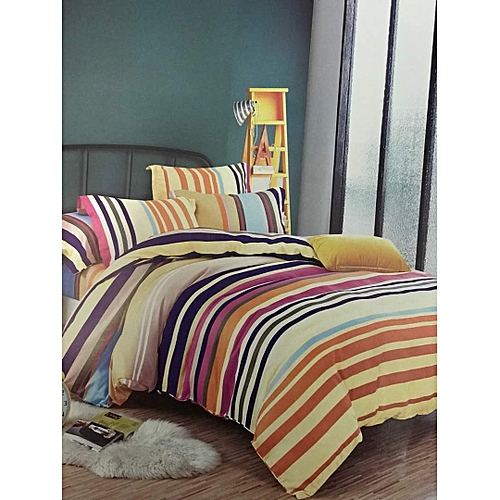 Sofa Sets In Uganda: Generic 5x6 Striped Duvet With 1 Bed Sheet & 2 Pillows