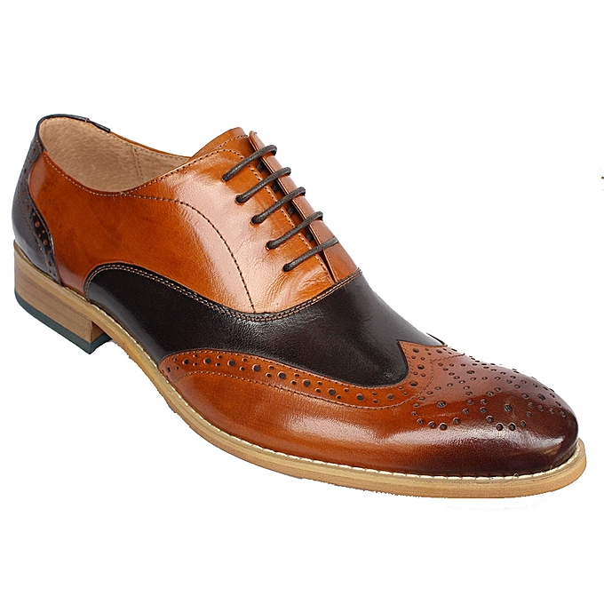 8e4179369d9b02 Buy Generic Oxford Lace up Shoes - Brown, Black online | Jumia Uganda