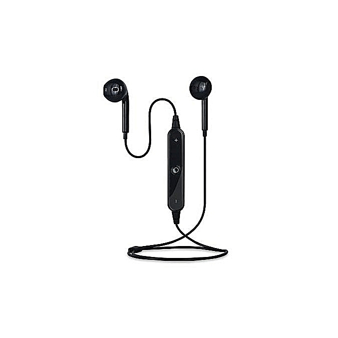 S6 Wireless Sports Headphones Bluetooth 41 Headsets Earbuds With Mic Sport Stereo Headset Cancelling Earphone For
