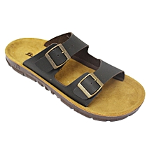 742708ae8 873-4976 Double Strap Sandals - Brown