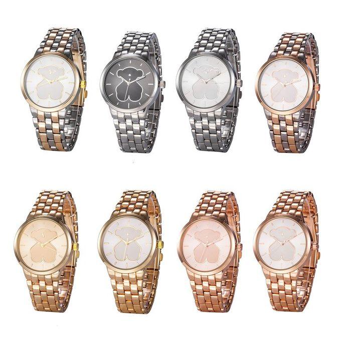 Buy Allwin Cartoon Cute Bear Lady Round Dial Watch Girls