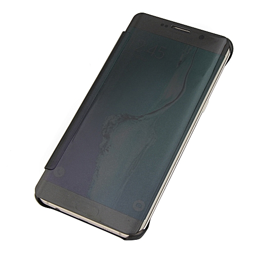 best service 0b887 44a90 Hiamok Luxury Mirror Slim Case Cover For Samsung Galaxy S6 Edge Plus Black