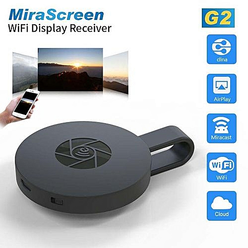 New RK3036 MiraScreen G2 TV Stick Dongle Anycast Crome Cast HDMI WiFi  Display Receiver Miracast Chromecast 2 Mini PC Android TV
