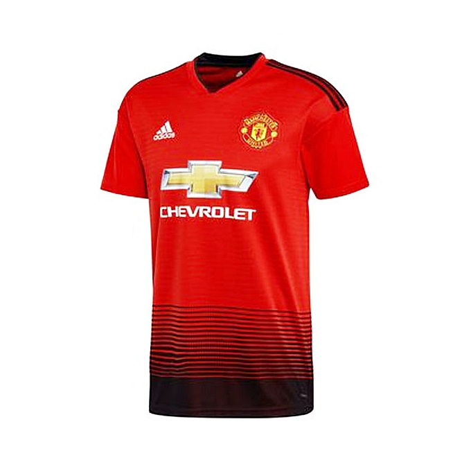 4af595ed127 Replica Manchester United 2018/19 Home jersey, Short Sleeve - Red,black