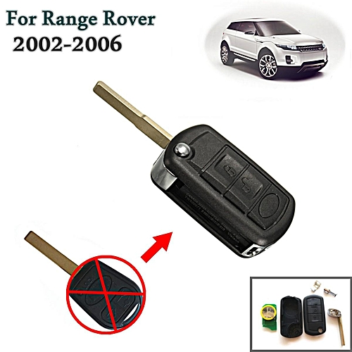 3 Button Folding Remote Key Fob 315MHz ID46 Chip For Land Rover Range Rover