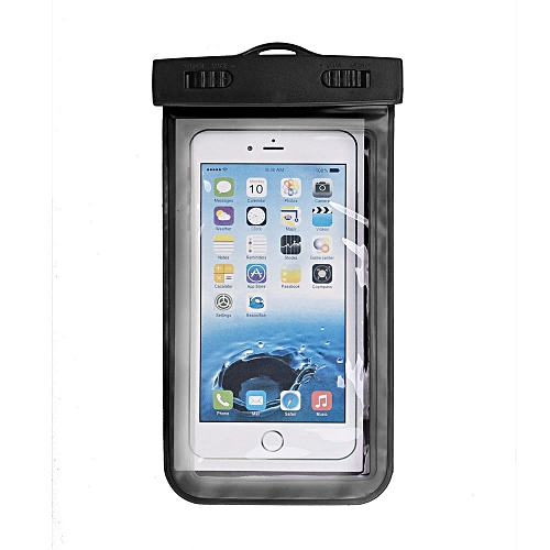 super popular dcace c2d24 Hiamok Universal Waterproof Pouch For iPhone 6/6 Plus Cell Phones Black