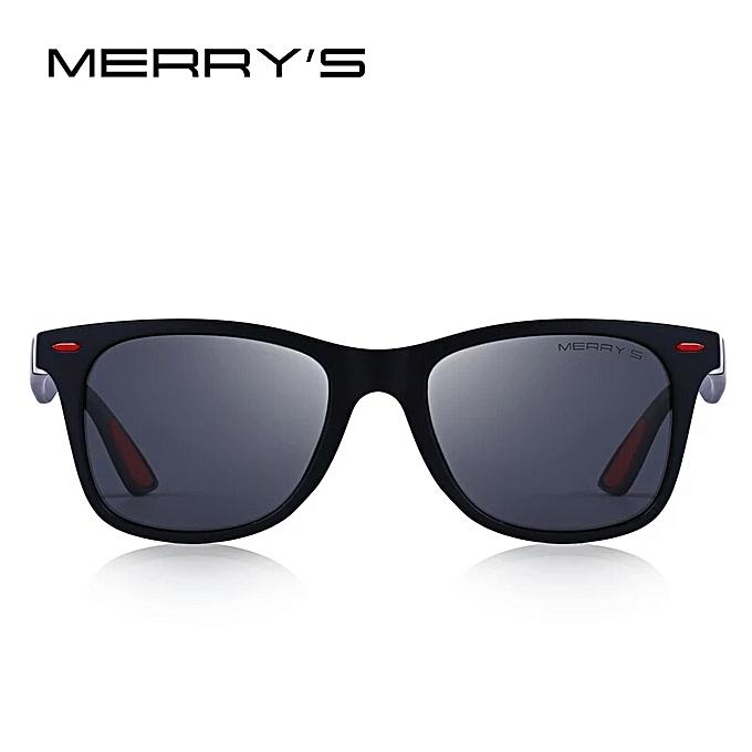 4f6eaf4275 ... MERRYS DESIGN Men Women Classic Retro Rivet Polarized Sunglasses  Lighter ...