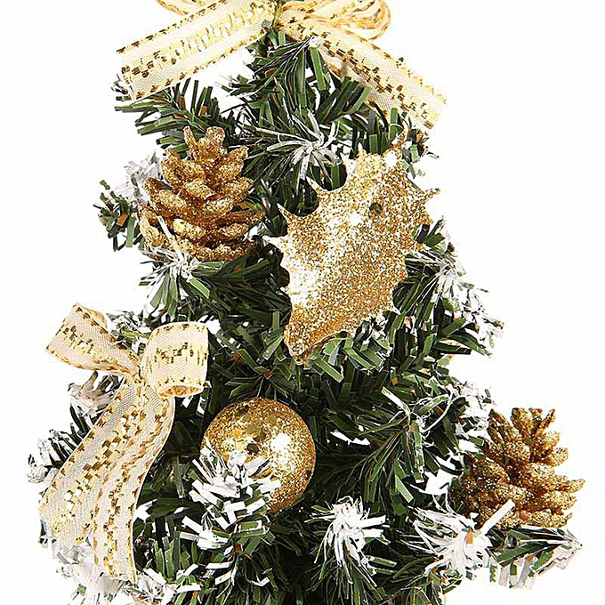 ... Artificial Tabletop Mini Christmas Tree Decorations Festival Miniature Tree 30cm