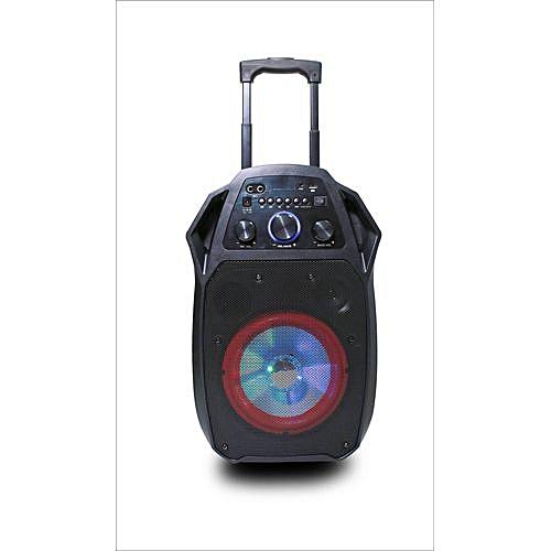 FΩL-AR12 - Portable Woofer, Bluetooth, FM, SD Card, USB Home Theatre  Speaker - Black