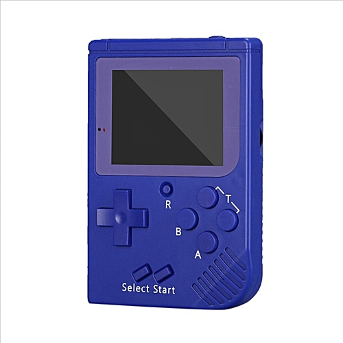Handheld Game Console Video Game 8 Bit Retro Mini Pocket Built-in 129 Games  blue