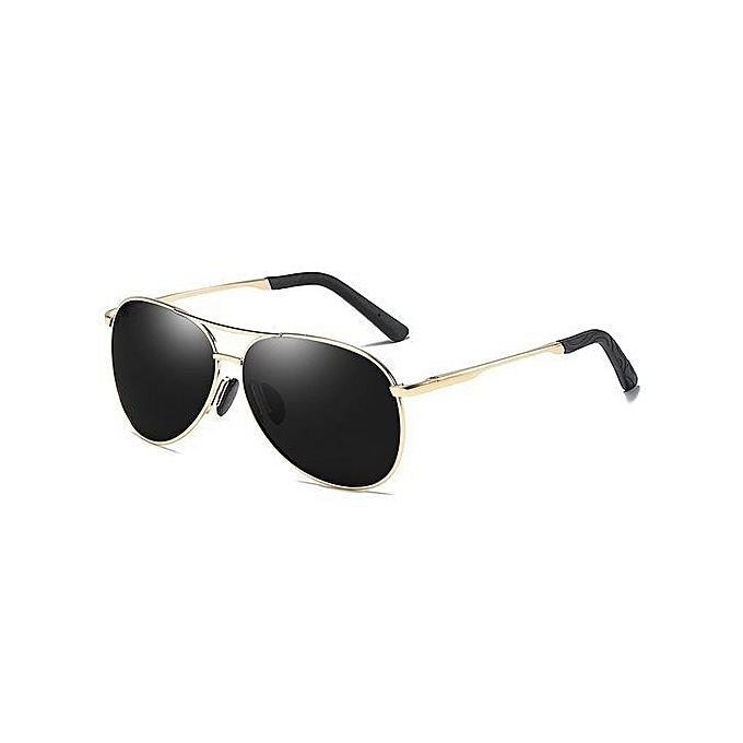 fdab9640c Refined Men's New Polarized Sunglasses Driving Mirror Fishing Sunglasses- gold