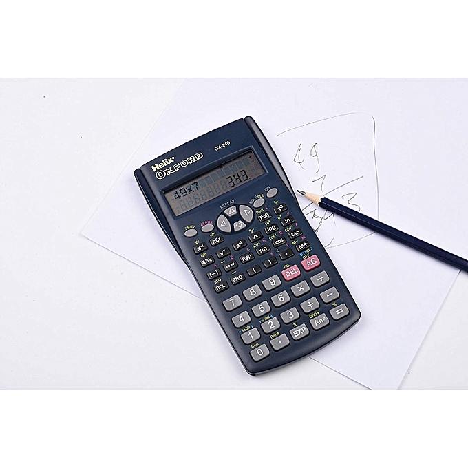 Buy Oxford Helix Oxford OX-240 Scientific Calculator online