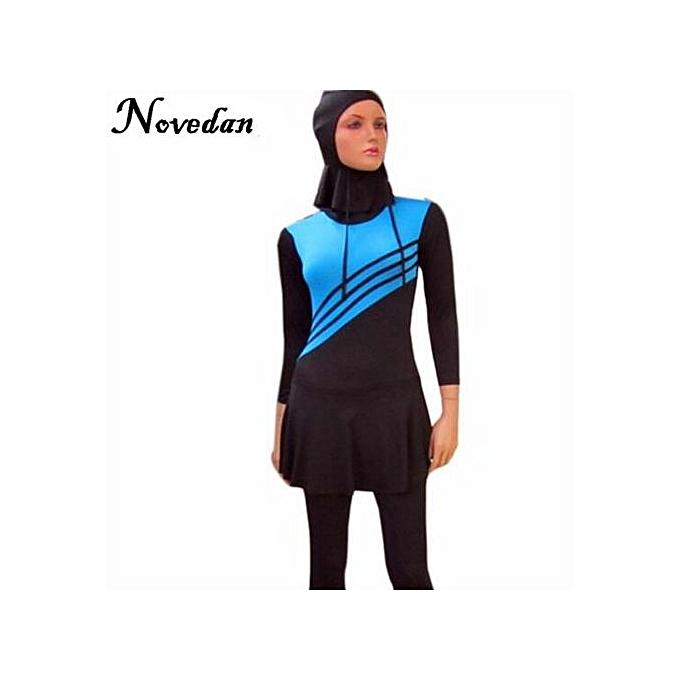 7b859d8f9993d Muslimah High Quality Muslim Women Swimwear Islamic Swimsuit For Women  Hijab Swimwear Full Coverage Conservative Swimwear