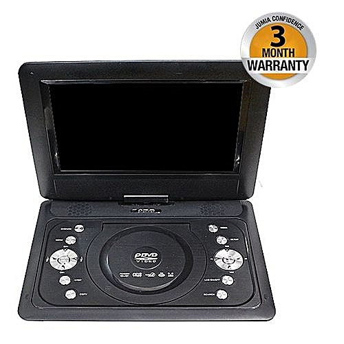 Buy Generic Mini Dvd Player 3d Tv Fm 139 Black Online Jumia