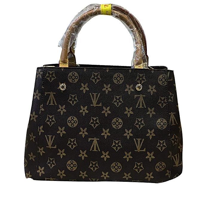 54e19e7488c Buy Generic Women's Faux Leather Office Handbag - Brown online ...
