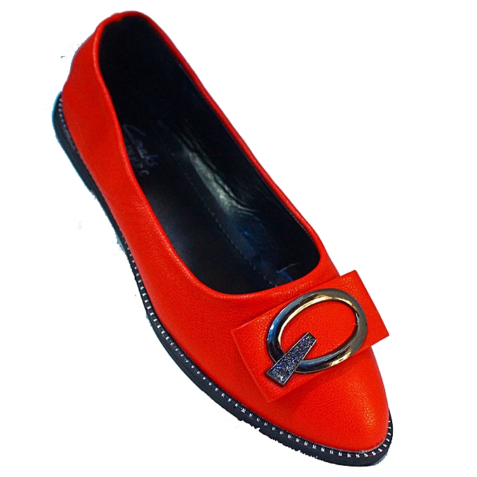 e7ab46735c1a Women s Flat Shoes - Red