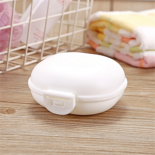 f9d8cbda43ae New Bathroom Dish Plate Case Home Shower Travel Hiking Holder Container  Soap Box