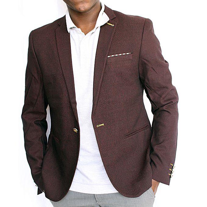 Blazers Jumia: Pocket Designed Men's Blazer