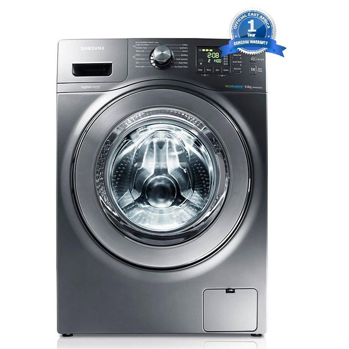 samsung samsung wf906u4sagd 9kg eco bubble front load washing machine grey buy online. Black Bedroom Furniture Sets. Home Design Ideas