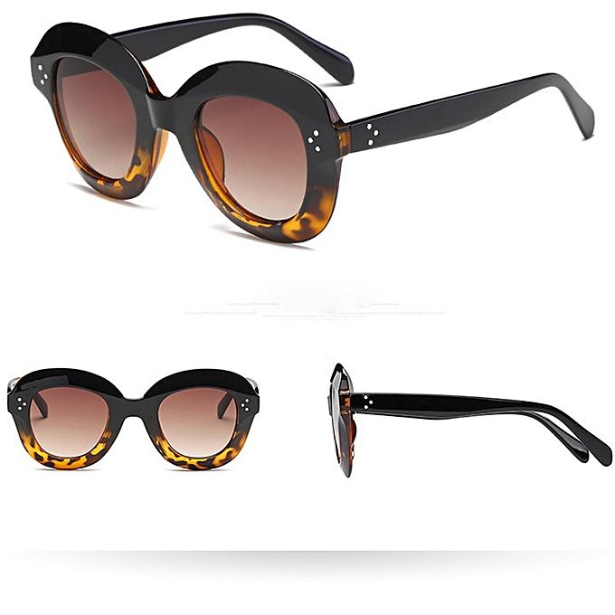 a226e75c5086 Women Man Vintage Cat Eye Big Frame Sunglasses Retro Eyewear Fashion