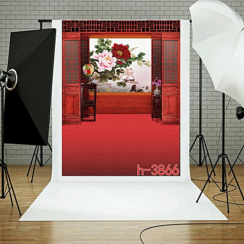 Photography Backdrop 1.5*2.1M Photographic Background Cloth For Studio7  H,3866 multicolor