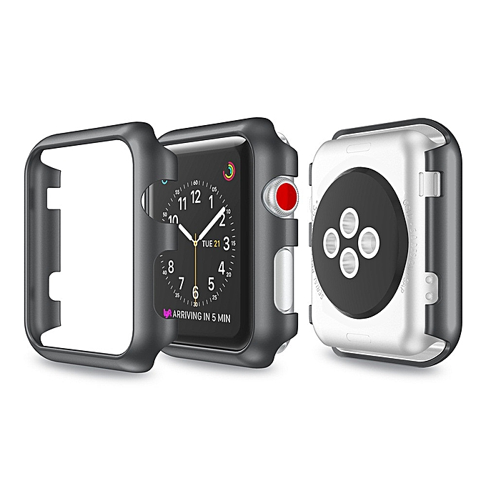 best loved 85fde 7859b Ultra-Slim Transparent PC Hard Case Cover For Apple Watch Series 3 38MM
