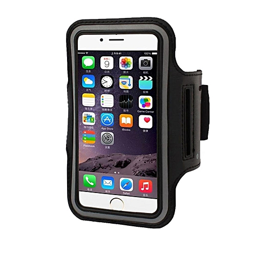 quality design e3f53 fd3c5 Armband Gym Running Sport Arm Band Cover Case For iphone 8 Plus 5.5 inch BK