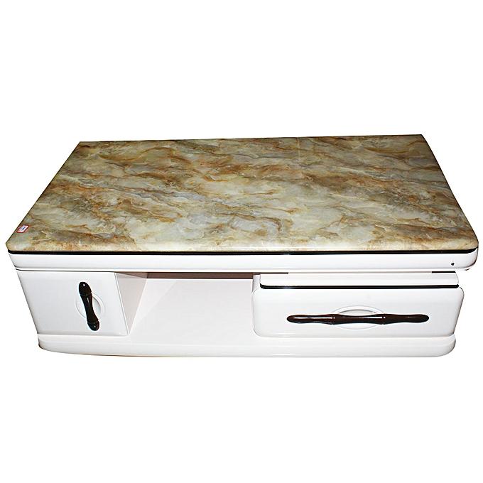 Generic 70*130 Wooden Table 3065 - White   Jumia Uganda