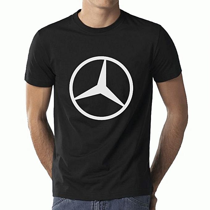 Buy mercedes benz t shirt black best price online for Mercedes benz t shirt