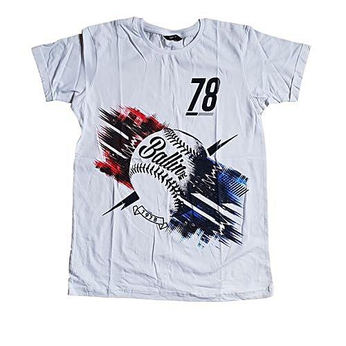 b2d8d84c4c6 Generic Boys Asda baseball graphic t-shirt short sleeve t-shirt ...