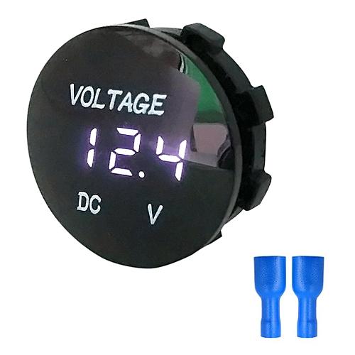 b3d5ab0a2f891 Buy Allwin 5-48V Panel Voltmeter Voltage Meter Volt Tester White  Transparent Style black online | Jumia Uganda