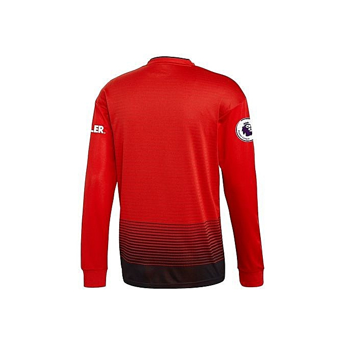 check out 31d6e fbe34 Replica Manchester united 2018/19 home Jersey, long sleeve - Red, black