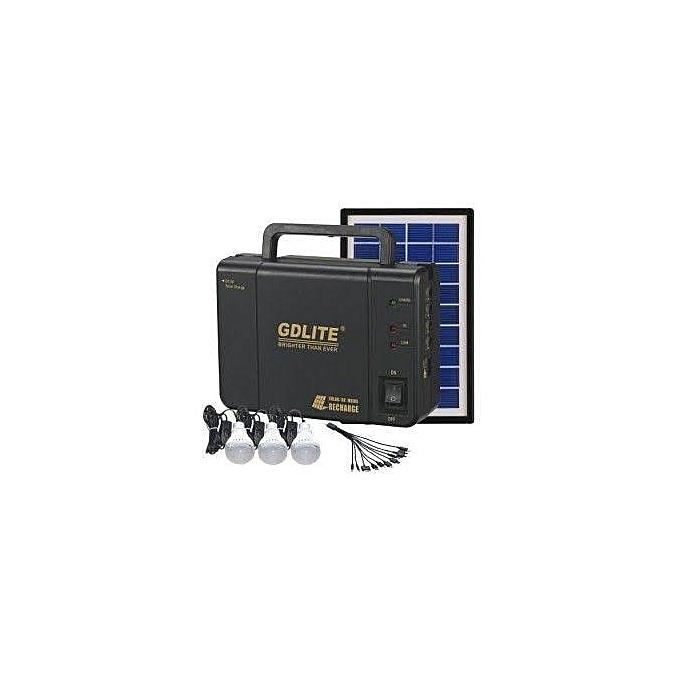 Solar Solar Lighting Kit 8006a Black Jumia Uganda