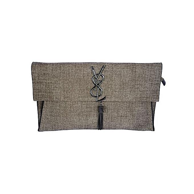 Women s Elegant Clutch Bag – Brown  7f8da006e2