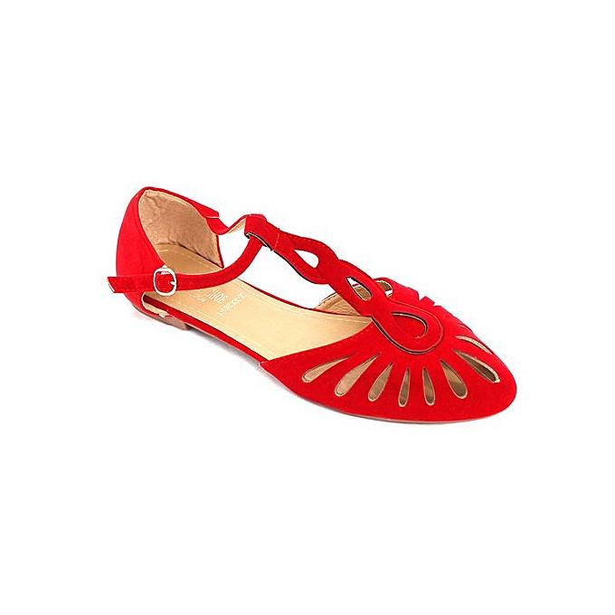 f67939d766d2 Generic Designer Women Suedette Shoes - Red