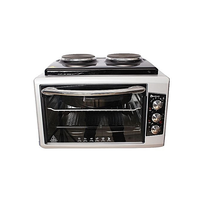 buy asel blue flame bf 0125 mini oven 40 litre with 2 hot. Black Bedroom Furniture Sets. Home Design Ideas